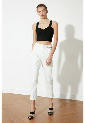 Slim fit jeans - cream