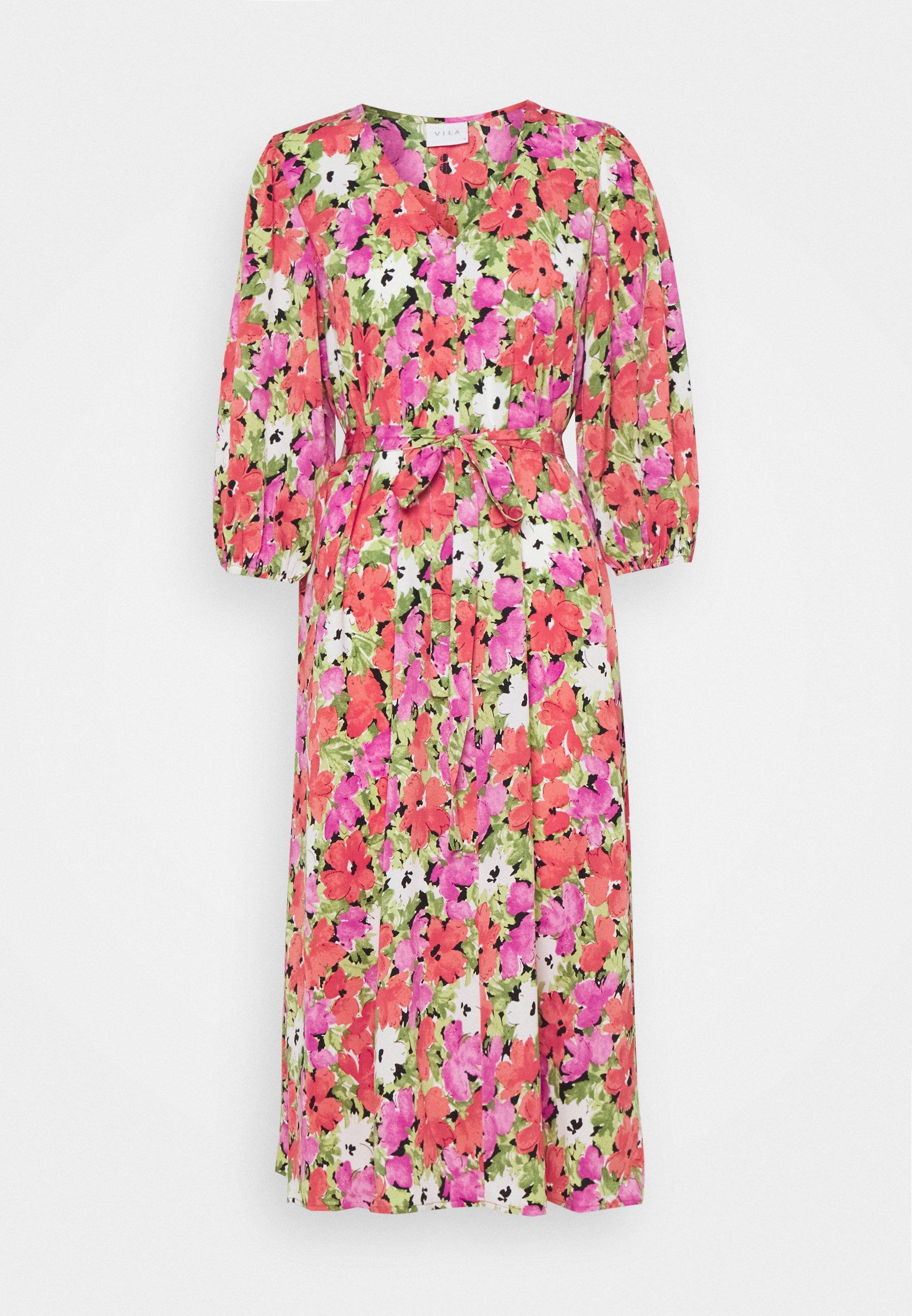 Women VIAMORA 3/4 BELT MEDI DRESS - Day dress