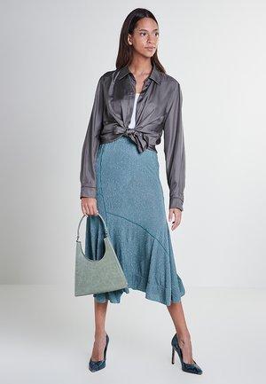 Pleated skirt - mint green