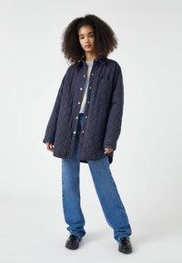 PULL&BEAR - Zimní kabát - dark grey - 1