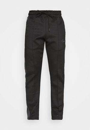 WIDE TRACKPANTS UNISEX - Teplákové kalhoty - black/gray