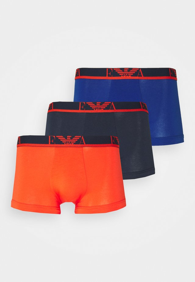 TRUNK 3 PACK - Culotte - mar/anemon/grenadine