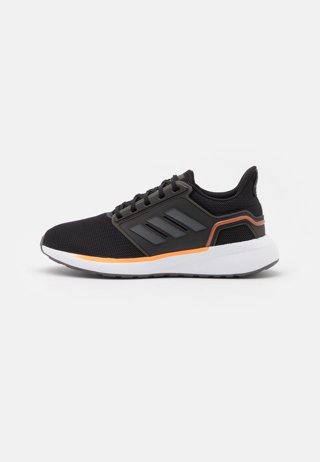 EQ19 RUN - Hardloopschoenen neutraal - core black/grey five/screaming orange