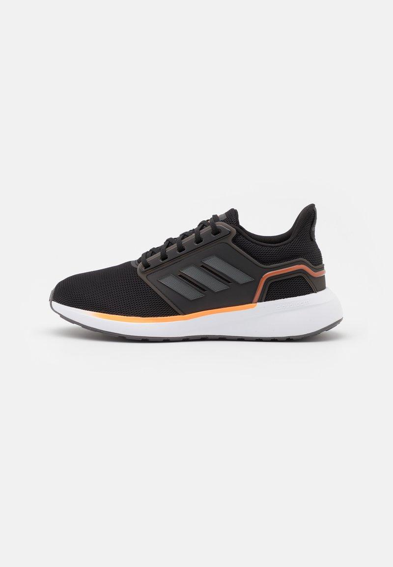 adidas Performance - EQ19 RUN - Zapatillas de running neutras - core black/grey five/screaming orange