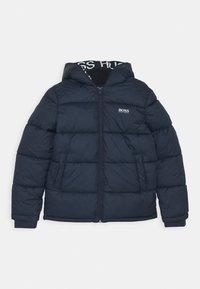 BOSS Kidswear - PUFFER JACKET - Zimní bunda - navy - 0