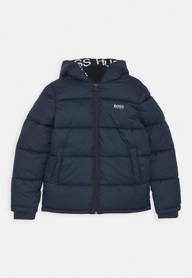 PUFFER JACKET - Winterjacke - navy