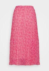 Marks & Spencer London - PLEAT SKIRT - A-line skirt - pink - 1