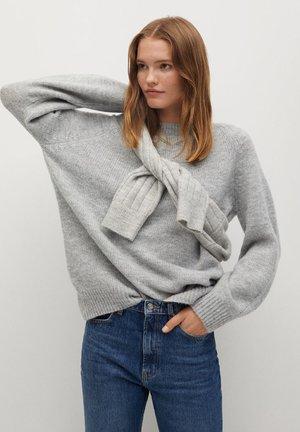 JORGE-I - Pullover - gris chiné moyen