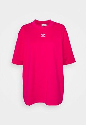 TEE - Basic T-shirt - bold pink