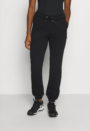 MEGHAN PANTS - Tracksuit bottoms - black beauty