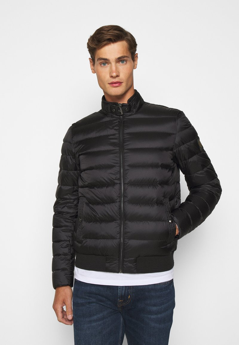 Belstaff - CIRCUIT JACKET - Down jacket - black