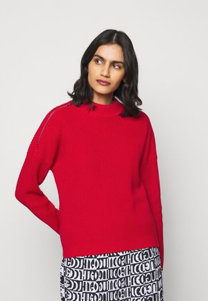 SANNIYYA - Jumper - medium red