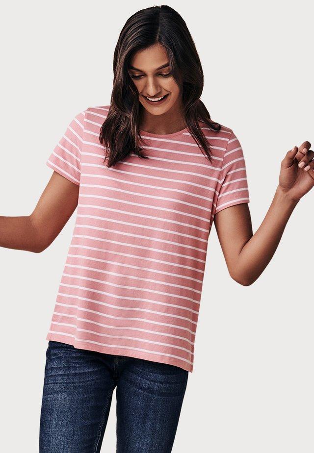 BRETON - T-shirt print - pink