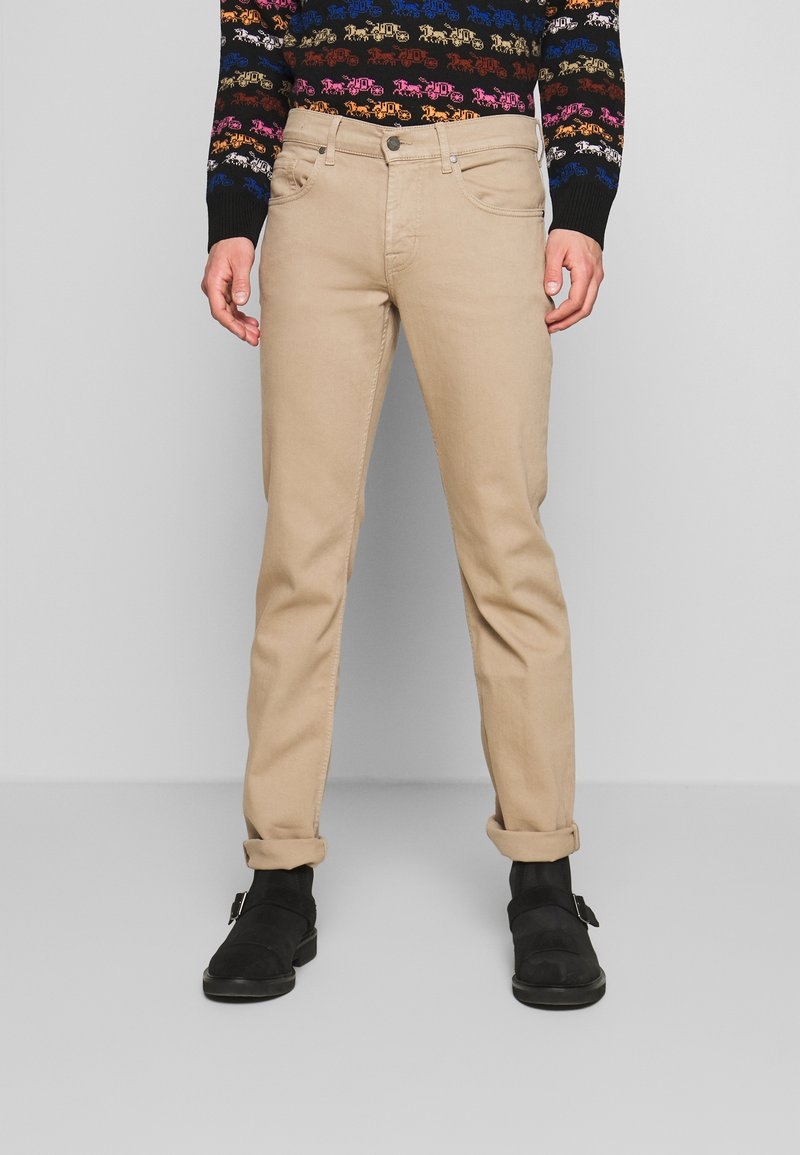7 for all mankind - SLIMMY - Jean slim - beige