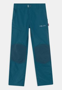 TrollKids - HAMMERFEST PRO SLIM FIT UNISEX - Outdoor trousers - petrol - 0