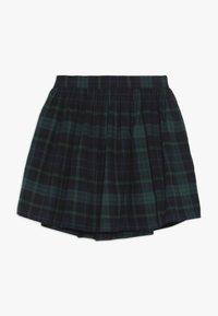 GAP - GIRL PLAID SKIRT - A-Linien-Rock - green - 0