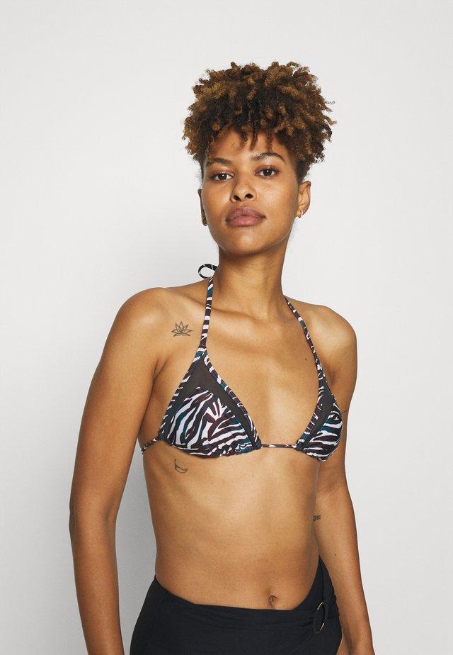 MOMBASA - Bikini pezzo sopra - black