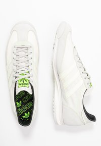 adidas Originals - SL 72  - Trainers - grey one/offwhite/signal green - 4