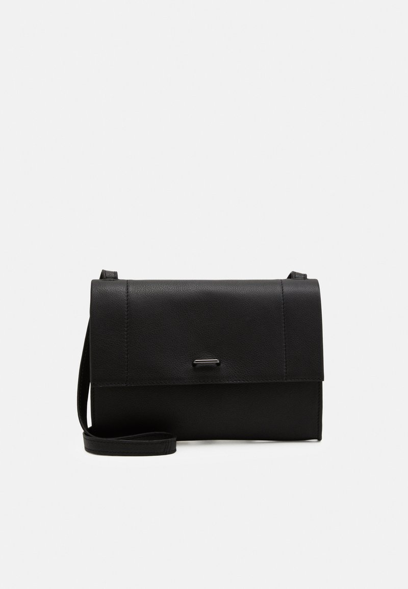 Zign - LEATHER - Clutch - black