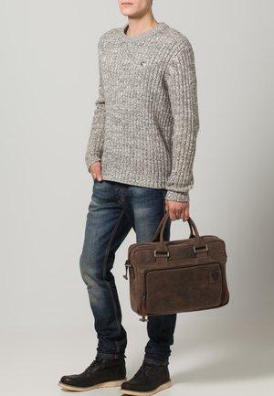 RICHMOND - Briefcase - dark brown