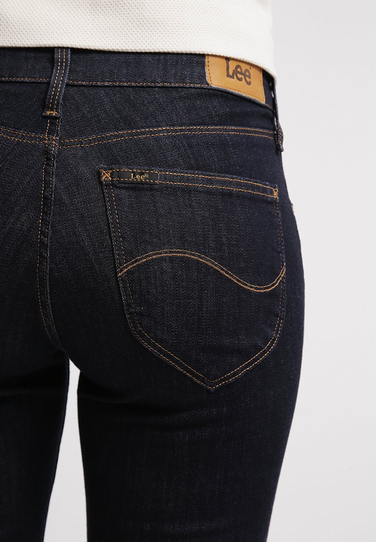 Lee MARION STRAIGHT - Jeans Straight Leg - one wash/rinsed denim 8ouSs4