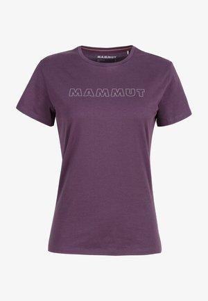 SEILE - Print T-shirt - blackberry