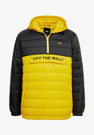 CARLON ANORAK PUFFER - Winter jacket - sulphur/black