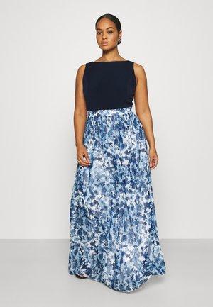 Maxi dress - cremeweiss/marine