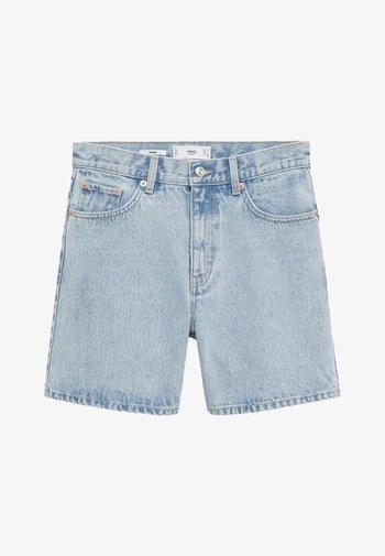 ZAIDA - Szorty jeansowe - bleach blauw