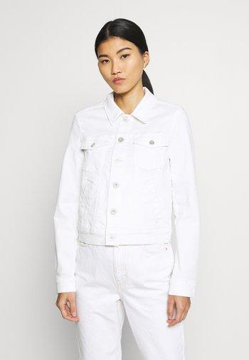 JACKET BUTTON CLOSURE GARMENT DYED - Denim jacket - soft white