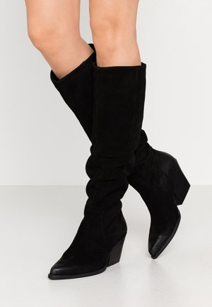NEVAAR - Botas camperas - black