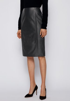 SEPASSA - Pencil skirt - black