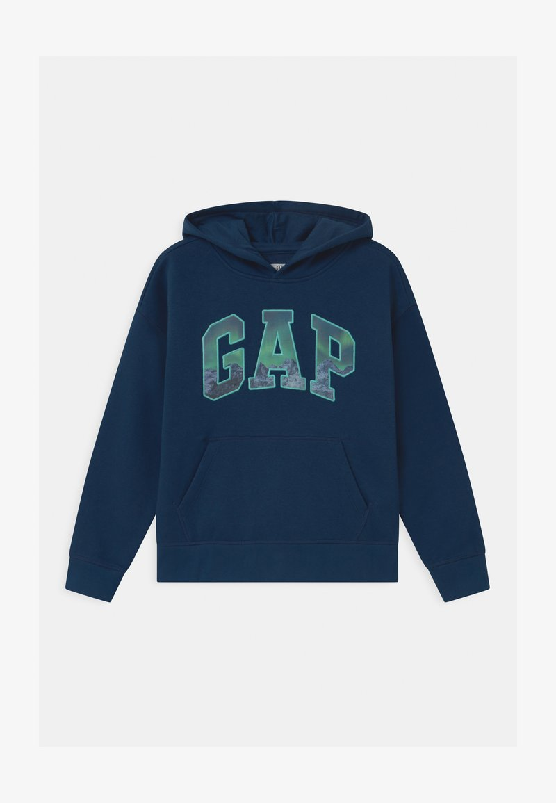 GAP - BOY ARCH HOOD - Sweatshirt - night