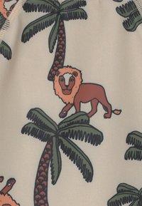 Lindex - LEO IN TREE SET UNISEX - Badeanzug - light beige - 3