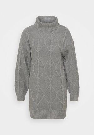 ECLECTIC DRESS - Jumper dress - medium grey