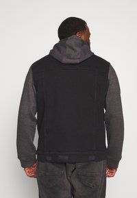 Brave Soul - Spijkerjas - black denim/dark grey - 2