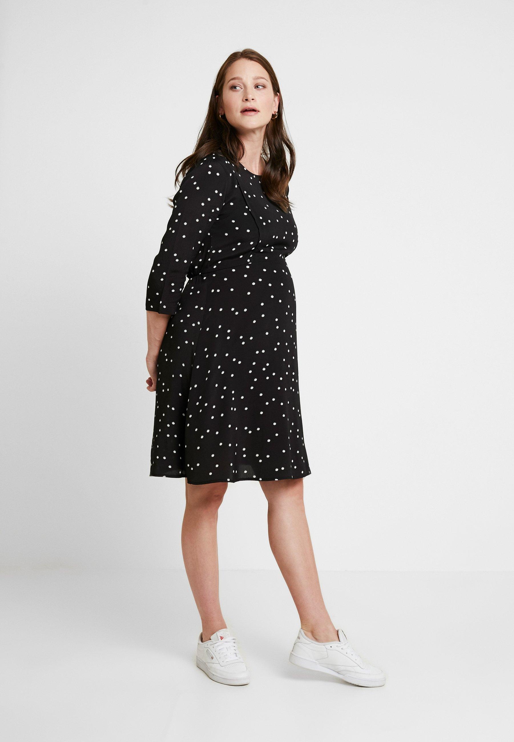 Women VARA MATERNITY & NURSING FUNCTION DRESS - Jersey dress