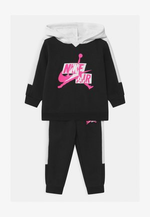 JUMPMAN CLASSICS SET UNISEX - Trainingsanzug - black/white/pink blast
