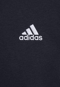 adidas Performance - 3 STRIPES ESSENTIALS - Hoodie - legend ink/white - 5