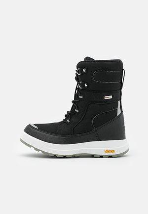 REIMATEC LAPLANDER UNISEX - Winter boots - black