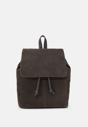 LEATHER - Rucksack - anthracite