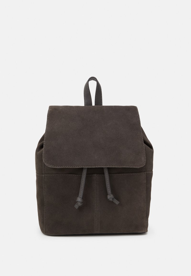 Zign - LEATHER - Rucksack - anthracite