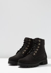 Timberland - HERITAGE LITE 6IN BOOT - Bottines à plateau - black - 4