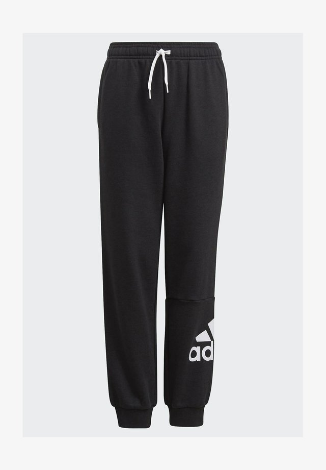 ESSENTIALS FRENCH TERRY - Tracksuit bottoms - black