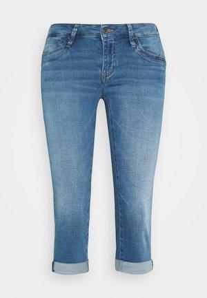 ALMA - Jeans Short / cowboy shorts - true blue