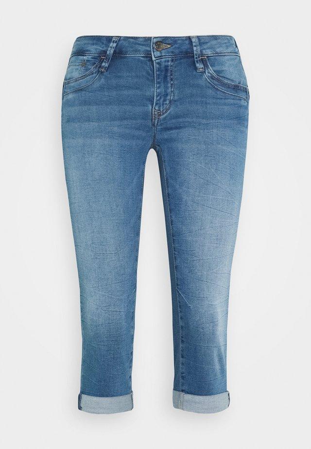 ALMA - Szorty jeansowe - true blue