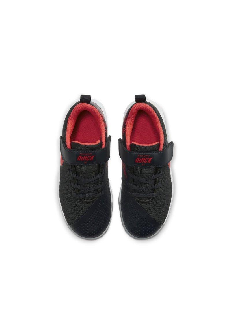 Nike Performance - TEAM HUSTLE QUICK 2 - Basketball shoes - dark smoke grey