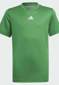 adidas Performance - AEROREADY - Print T-shirt - green - 2