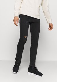 Denim Project - MR RED - Jeans Skinny Fit - black - 0