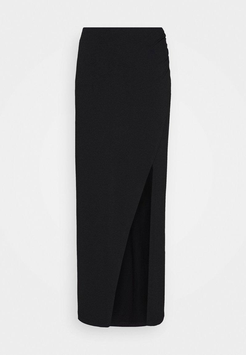 Ivyrevel - WIDE SLIT MAXI SKIRT - Maxi skirt - black